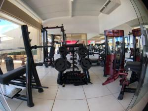 The fitness center and/or fitness facilities at Garoto Park Hotel