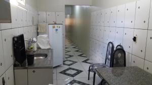 A bathroom at Casa de Charles