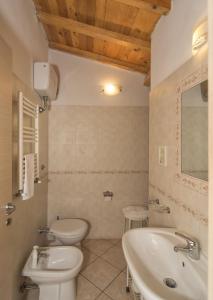 A bathroom at Affittacamere Elisa