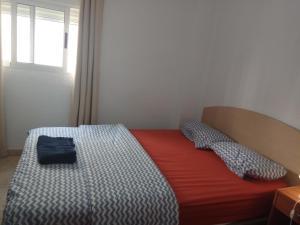 Cama o camas de una habitación en Apartamento Angel Alcazar 35