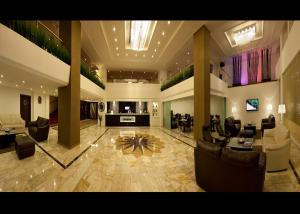 The lobby or reception area at Susuzlu Atlantis Hotel