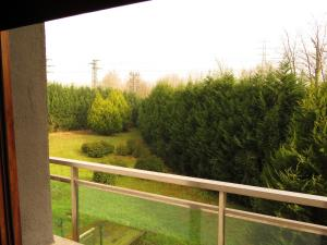 A balcony or terrace at Euba Hotel