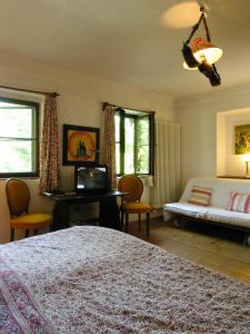 Ein Bett oder Betten in einem Zimmer der Unterkunft Haus Wartenberg