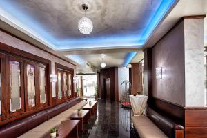 Лоби или рецепция в Хотел Платинум Имидж
