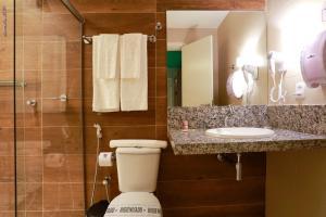 Um banheiro em Portofino Hotel Prime