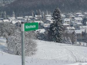 Haus Weschke during the winter