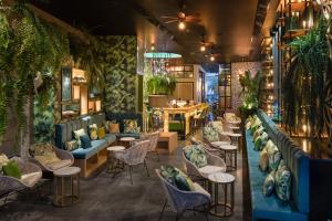 Restaurant ou autre lieu de restauration dans l'établissement La Isla y el Mar, Hotel Boutique