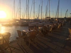 Ristorante o altro punto ristoro di Casa Chirico al Borgo Marinaro