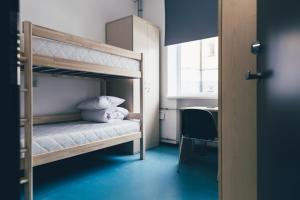 Narivoodi või narivoodid majutusasutuse Ülemiste City Student Hostel toas