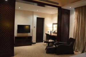 تلفاز و/أو أجهزة ترفيهية في Ista Suites Seef