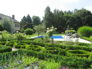 The swimming pool at or near B&B Au Grenier