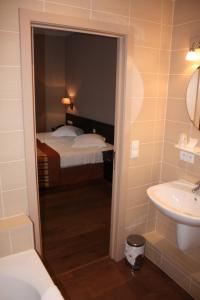 Ванная комната в Hotel Giorgi
