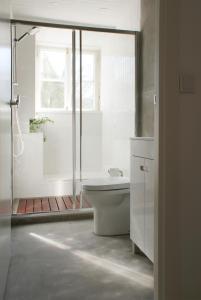 A bathroom at Casa de Baixo