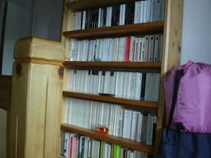 Bibliothèque dans the country house