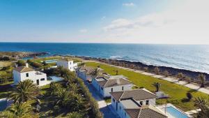 Vista aerea di Kymata Bohemian Beach Resort