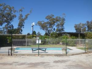 The swimming pool at or near Calder Family Motel