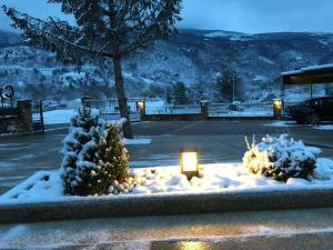 Hotel Calzada during the winter
