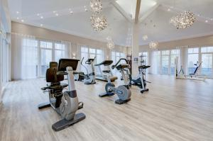 The fitness center and/or fitness facilities at Kurhotel Zink e. K.