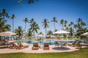 A piscina localizada em Patachocas ou nos arredores