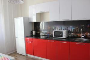 Кухня или мини-кухня в Apartment Panorama