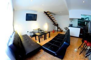 Zona de estar de ValpoGo Apartments