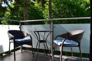 A balcony or terrace at Apartament REDA