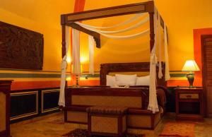 Cama o camas de una habitación en Hotel Boutique Quinta Chanabnal