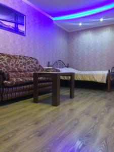 Кровать или кровати в номере Apartment on Chkalova