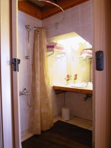 Salle de bains dans l'établissement la glycine