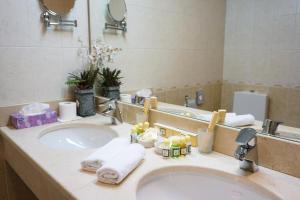 Ванная комната в Гостиница Смольнинская