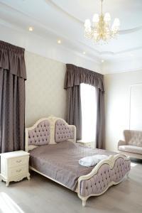 Кровать или кровати в номере Центр отдыха Баньки