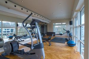 The fitness center and/or fitness facilities at Marienlyst Strandhotel