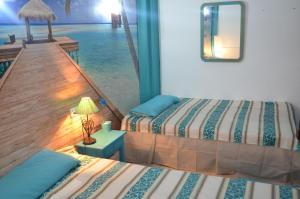 A bed or beds in a room at Residencia Santiago Mallorca