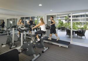 The fitness center and/or fitness facilities at Azzura Greens Resort