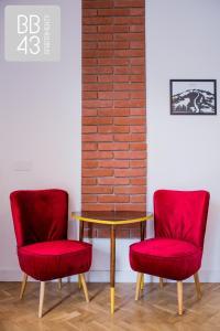 Część wypoczynkowa w obiekcie Apartament BB43 II