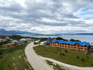A bird's-eye view of Hotel Los Ñires