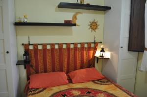 A bed or beds in a room at Villa Belvedere