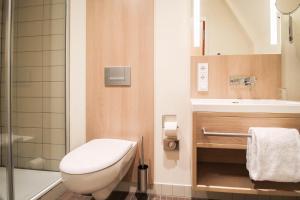Salle de bains dans l'établissement Hotel Axel Springer