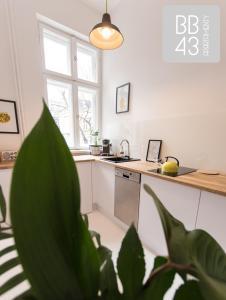 Kuchnia lub aneks kuchenny w obiekcie Apartament BB43 II