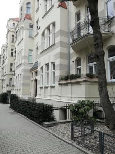 Budynek, w którym mieści się apartament