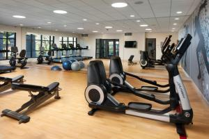 The fitness center and/or fitness facilities at Sheraton Redding Hotel at the Sundial Bridge