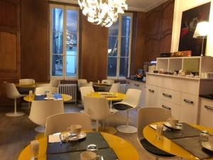 Restaurant ou autre lieu de restauration dans l'établissement Hôtel Atlantic