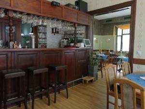 Lounge oder Bar in der Unterkunft Hotel Villa Alice