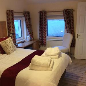 Un ou plusieurs lits dans un hébergement de l'établissement Island View B&B