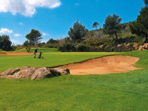 Golf pri hoteli alebo okolí