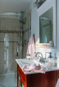 A bathroom at Star of the Sea B&B