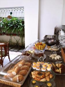 Food at or somewhere near the guest house
