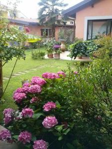 A garden outside Le ginestre