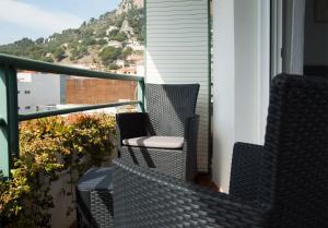 Un balcón o terraza de Apartaments Plus Costa Brava Estartit