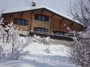 Chambre d'Hôtes La Trace during the winter